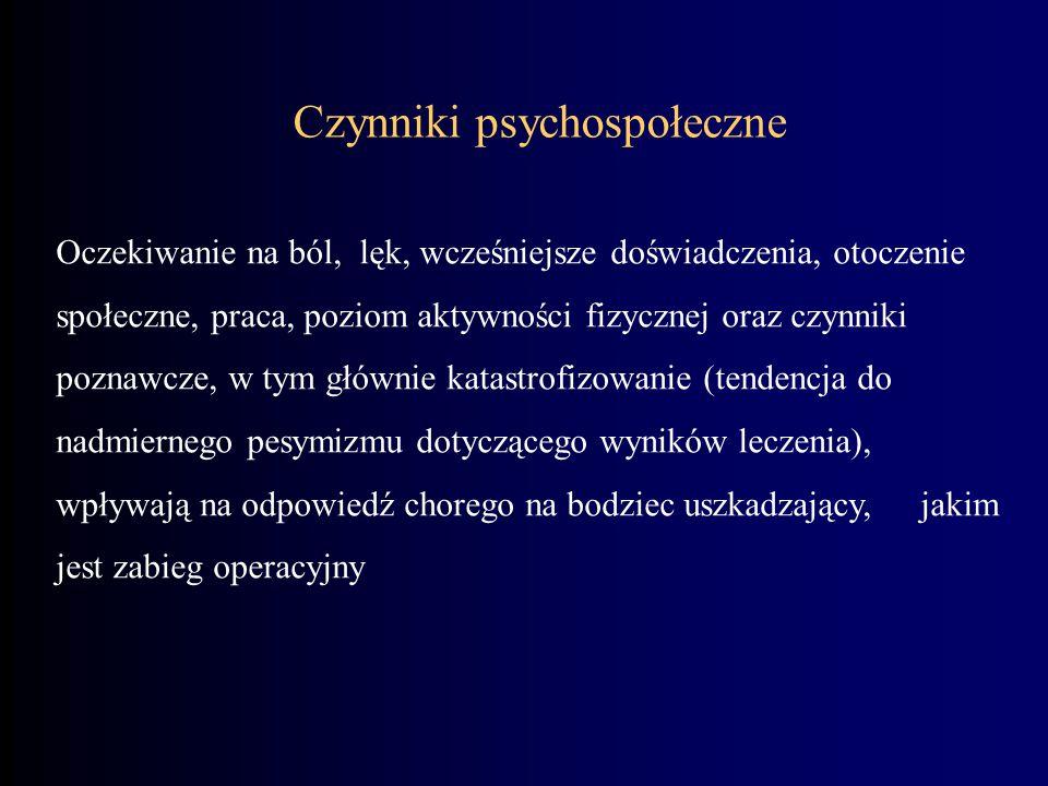 Czynniki psychospołeczne