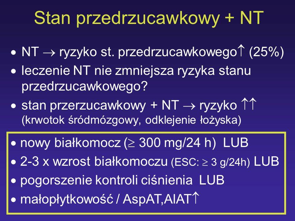 Stan przedrzucawkowy + NT