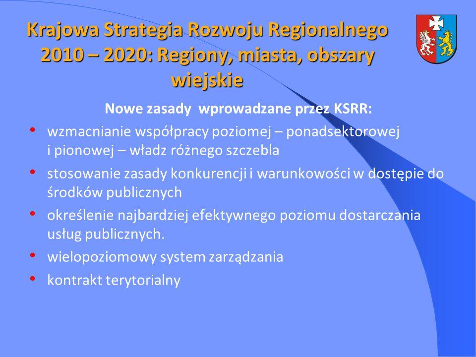 Nowe zasady wprowadzane przez KSRR:
