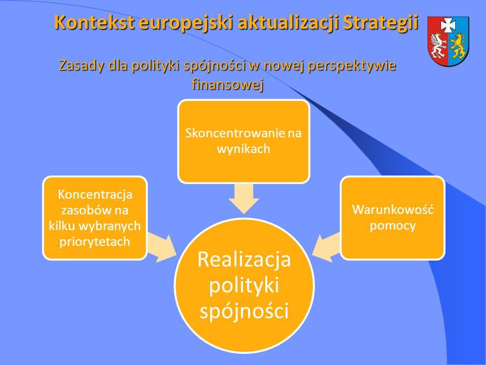 Zasady dla polityki spójności w nowej perspektywie finansowej