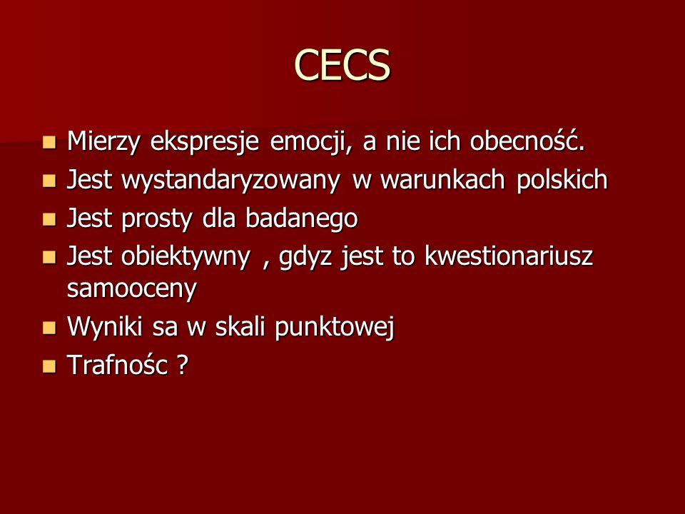 CECS Mierzy ekspresje emocji, a nie ich obecność.
