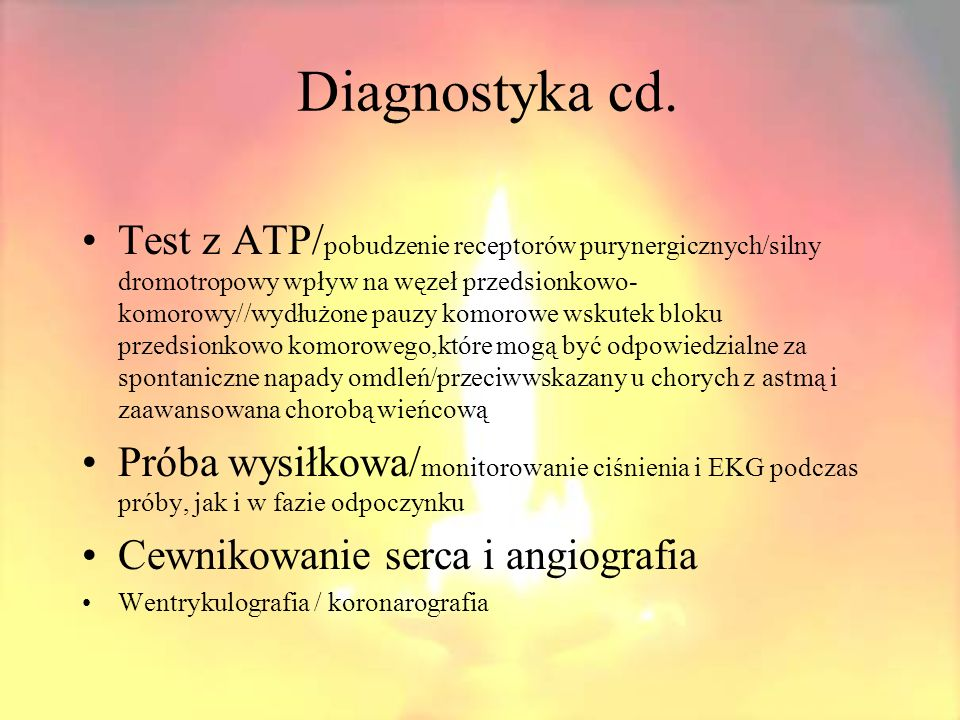Diagnostyka cd.