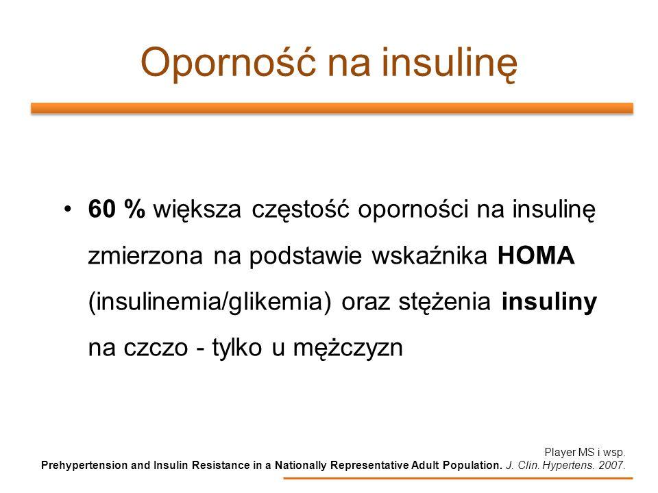 Oporność na insulinę