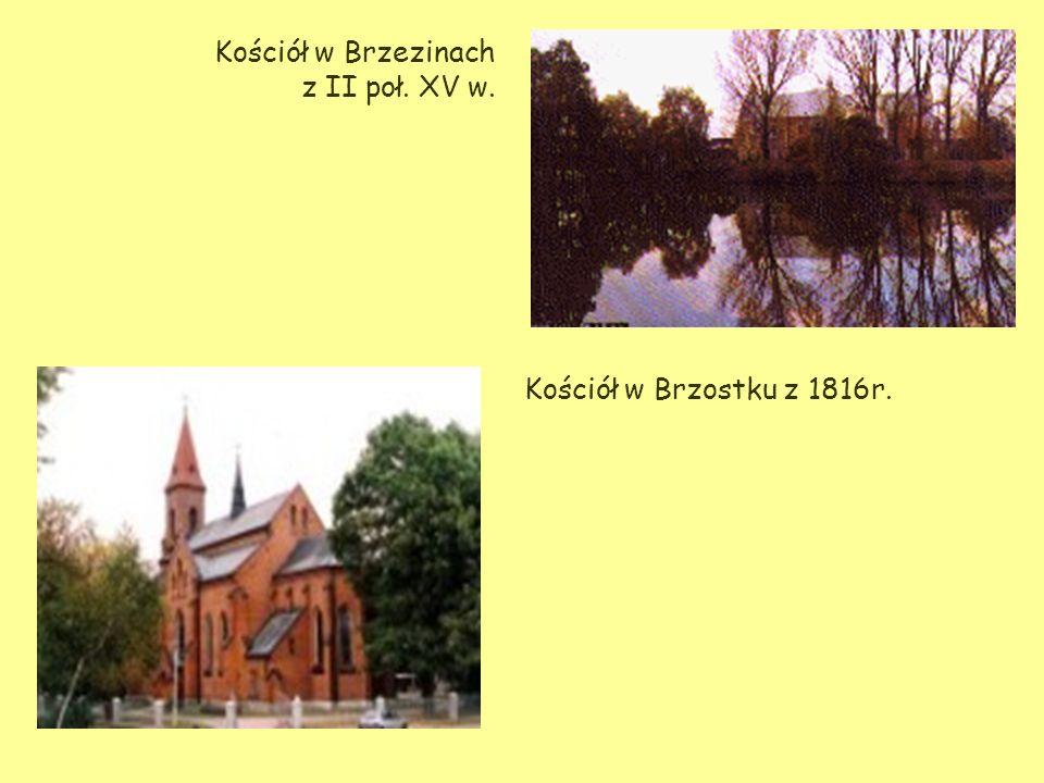 Kościół w Brzezinach z II poł. XV w.