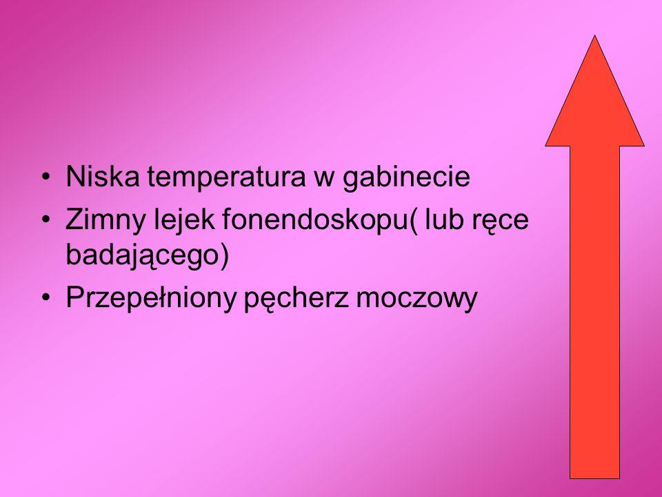Niska temperatura w gabinecie