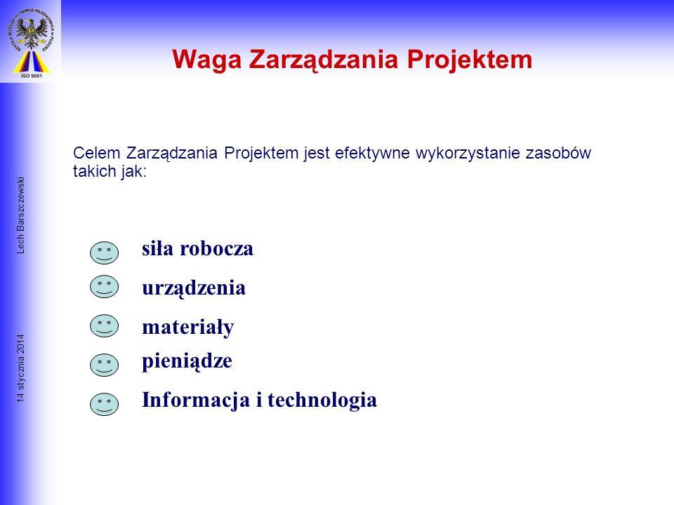 Waga Zarządzania Projektem