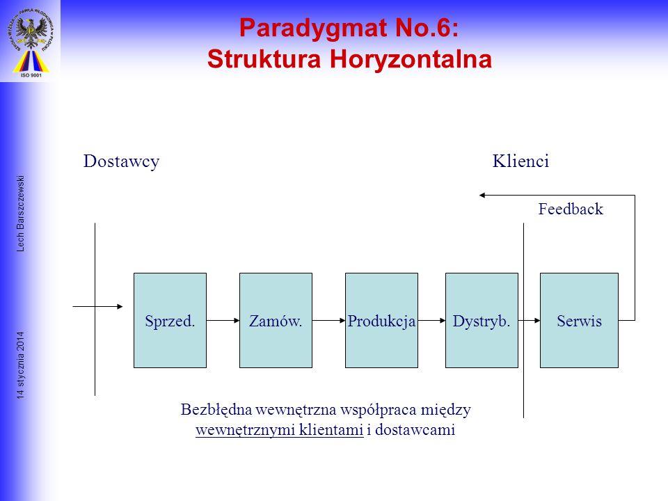 Paradygmat No.6: Struktura Horyzontalna