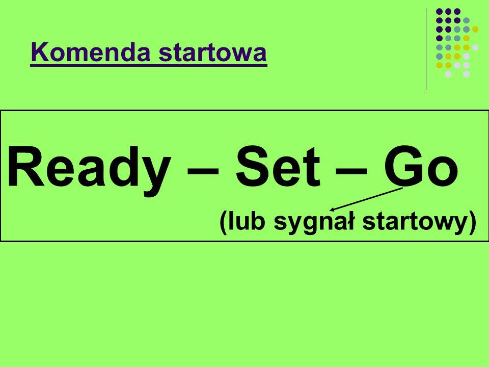 Komenda startowa Ready – Set – Go (lub sygnał startowy)