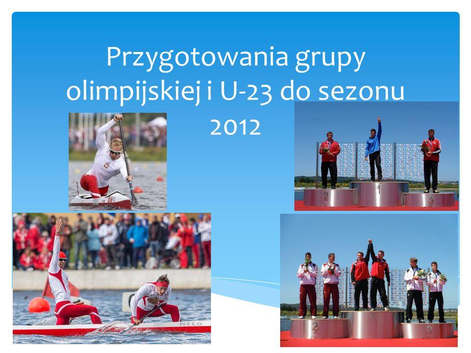 Przygotowania grupy olimpijskiej i U-23 do sezonu 2012