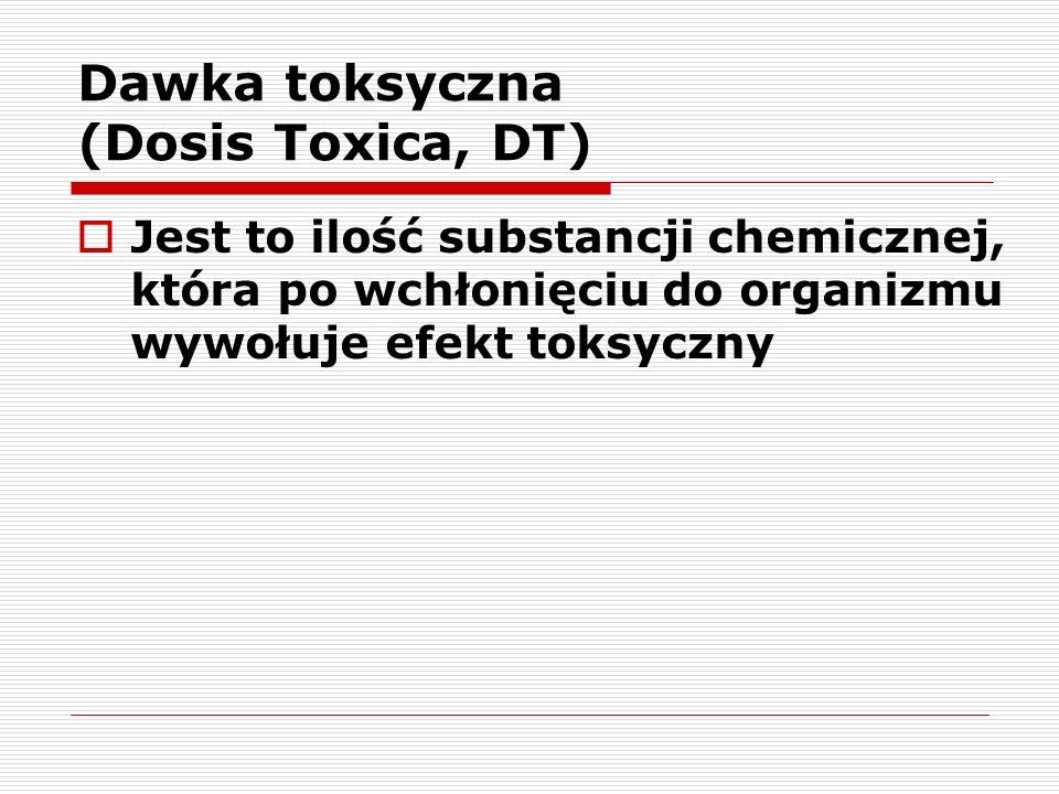 Dawka toksyczna (Dosis Toxica, DT)