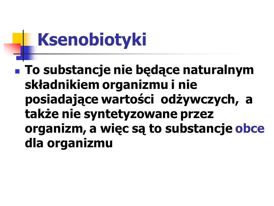 Ksenobiotyki