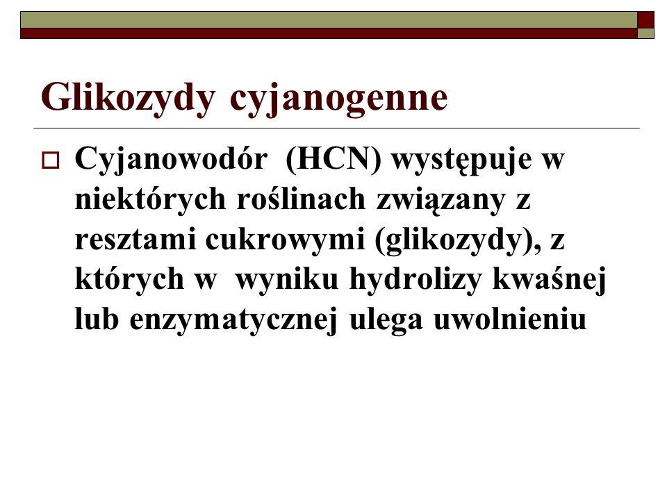Glikozydy cyjanogenne