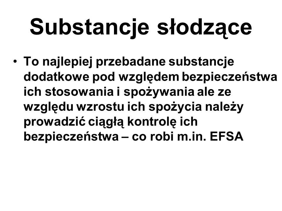 Substancje słodzące