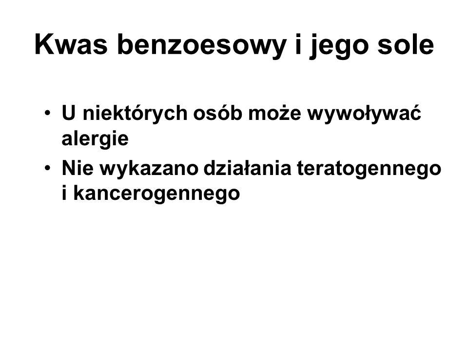 Kwas benzoesowy i jego sole