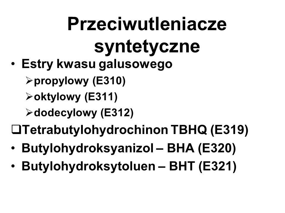Przeciwutleniacze syntetyczne
