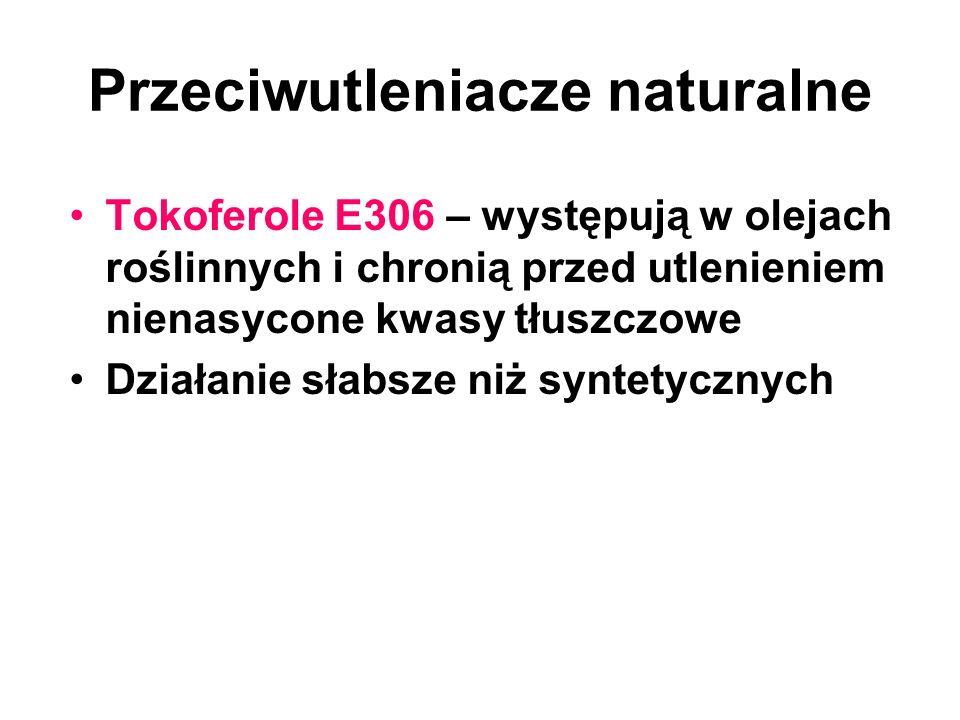 Przeciwutleniacze naturalne