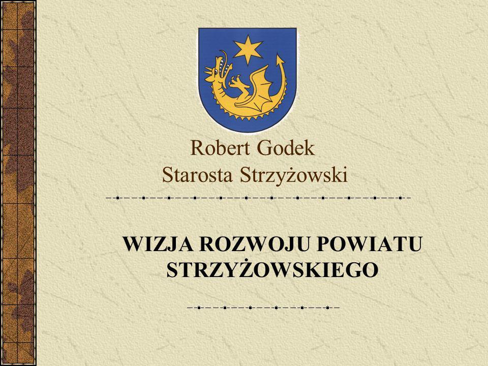 Robert Godek Starosta Strzyżowski