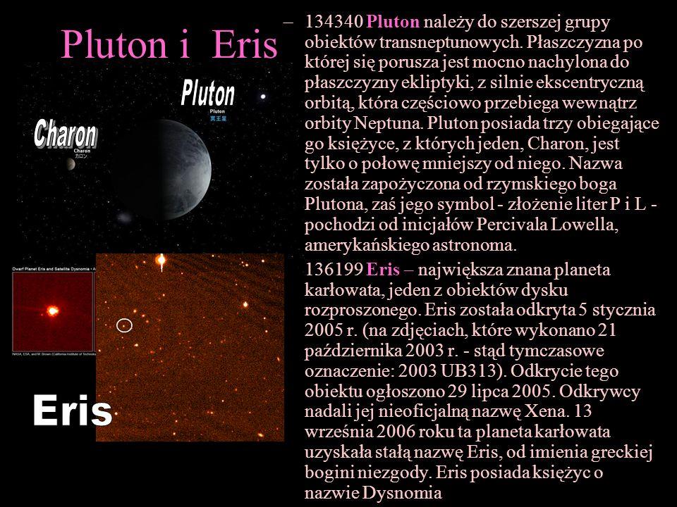134340 Pluton należy do szerszej grupy obiektów transneptunowych