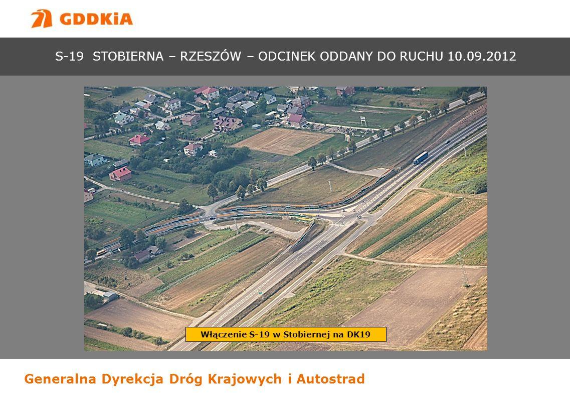 Włączenie S-19 w Stobiernej na DK19