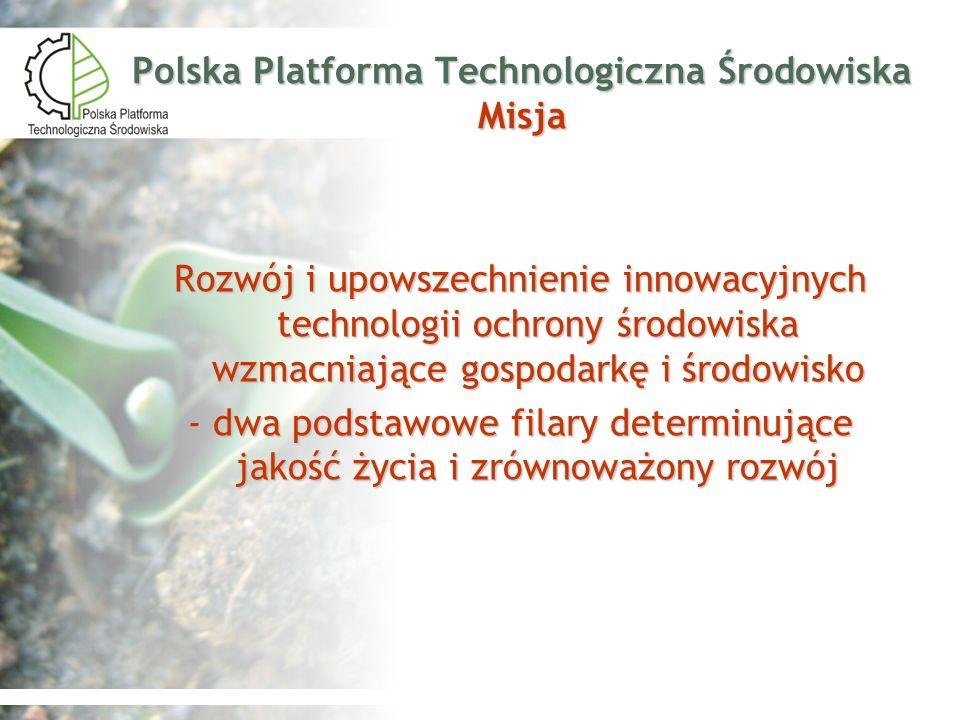 Polska Platforma Technologiczna Środowiska Misja