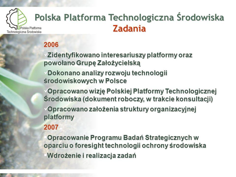Polska Platforma Technologiczna Środowiska Zadania