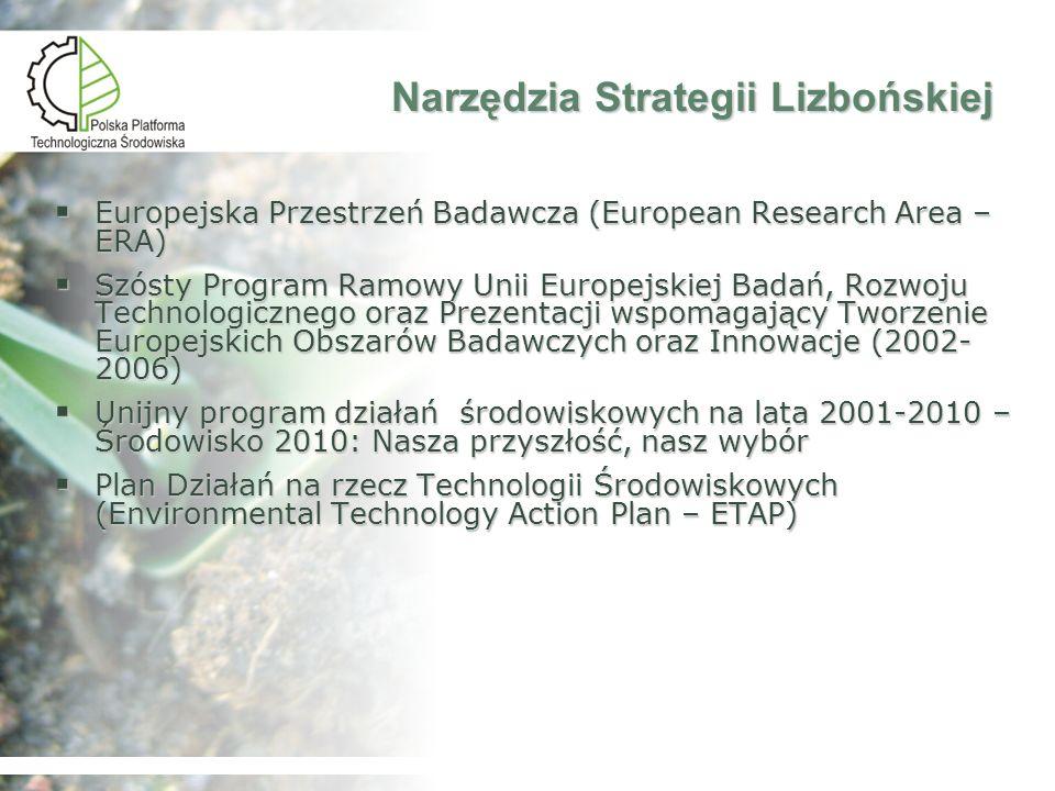 Narzędzia Strategii Lizbońskiej