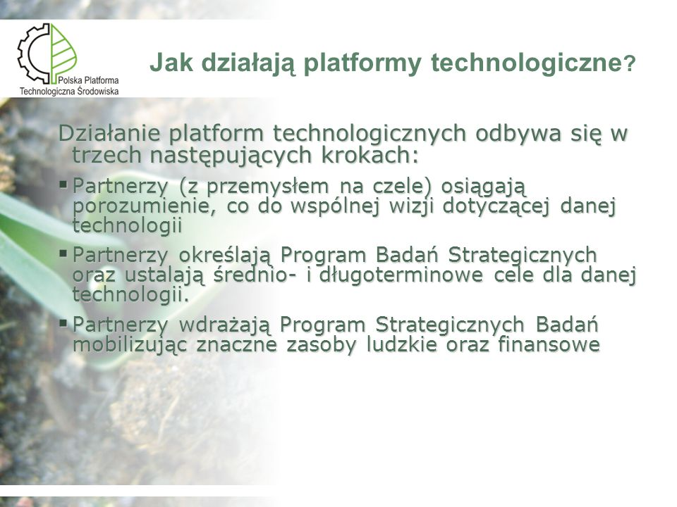 Jak działają platformy technologiczne