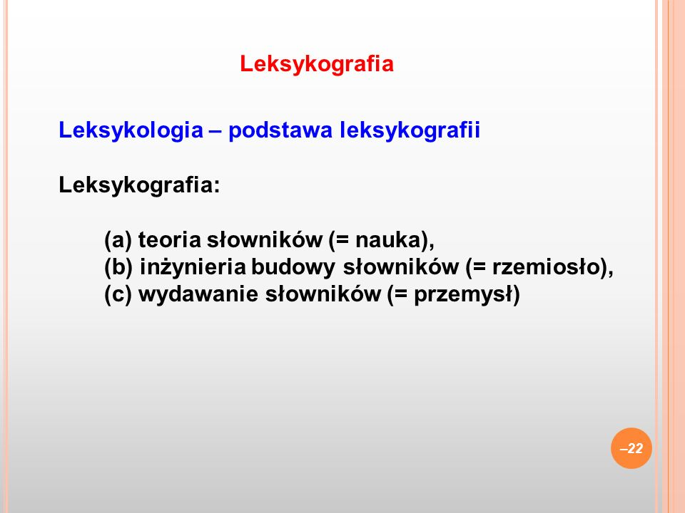 Leksykografia