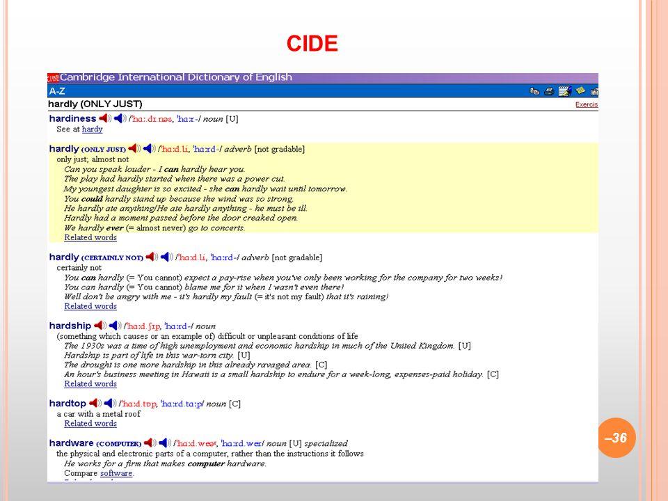 CIDE CIDE (1995)