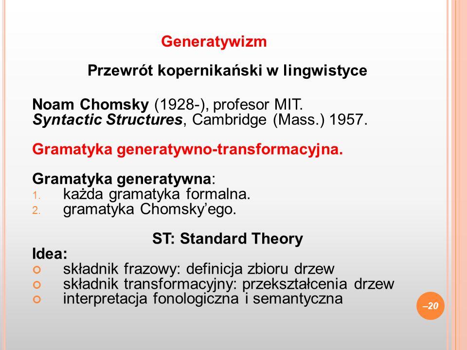 Przewrót kopernikański w lingwistyce