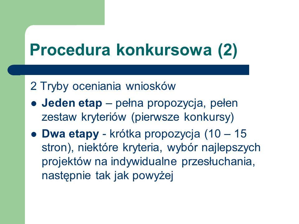 Procedura konkursowa (2)