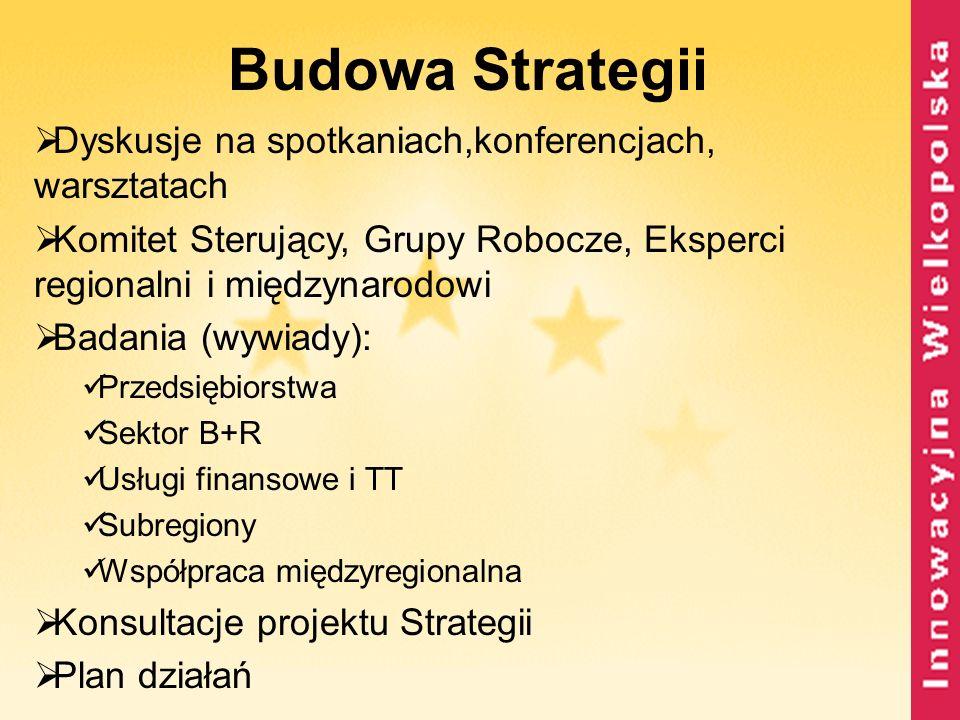 Budowa Strategii Dyskusje na spotkaniach,konferencjach, warsztatach