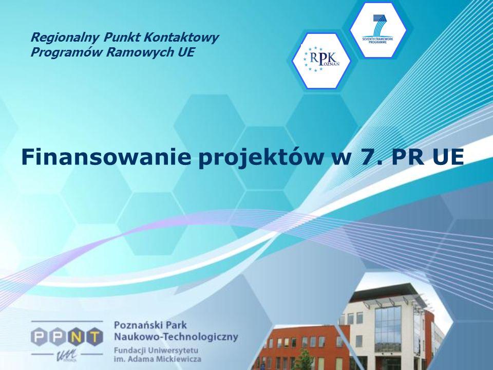 Finansowanie projektów w 7. PR UE