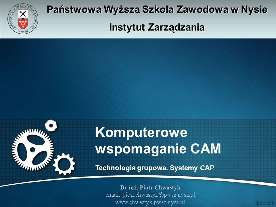 Komputerowe wspomaganie CAM