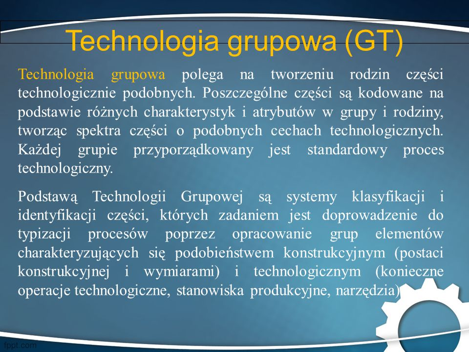 Technologia grupowa (GT)