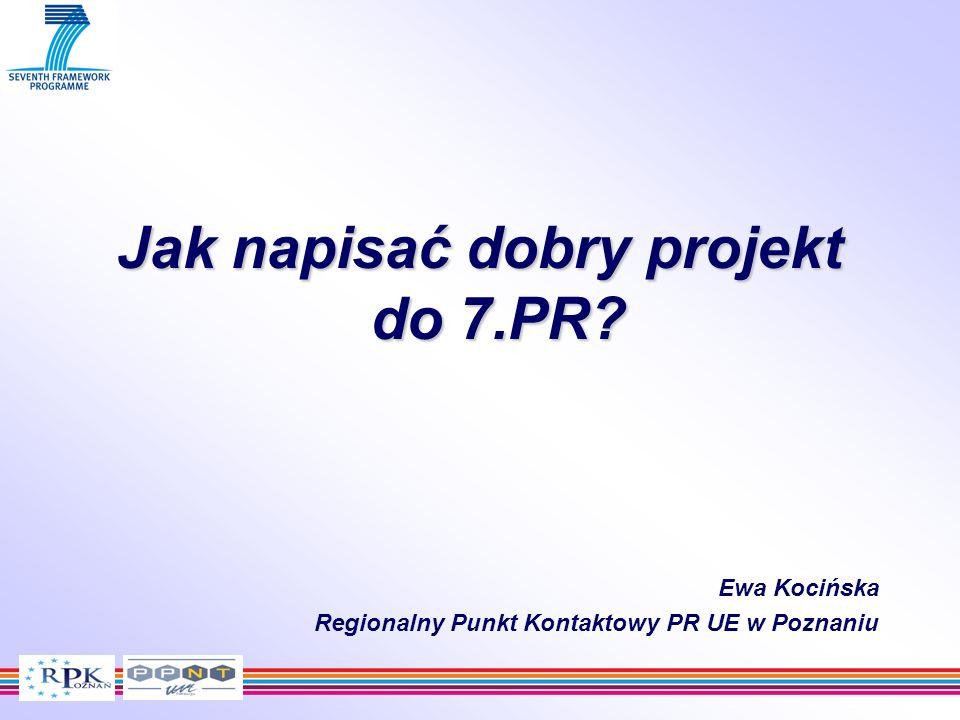 Jak napisać dobry projekt do 7.PR