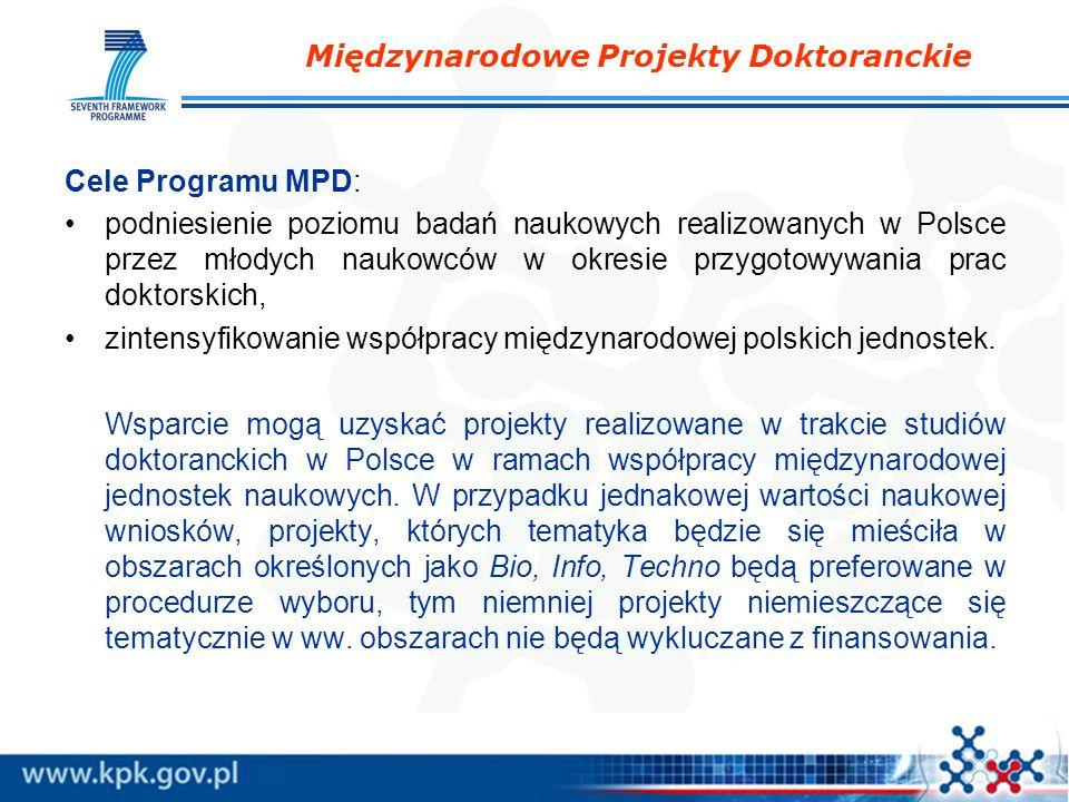 Międzynarodowe Projekty Doktoranckie