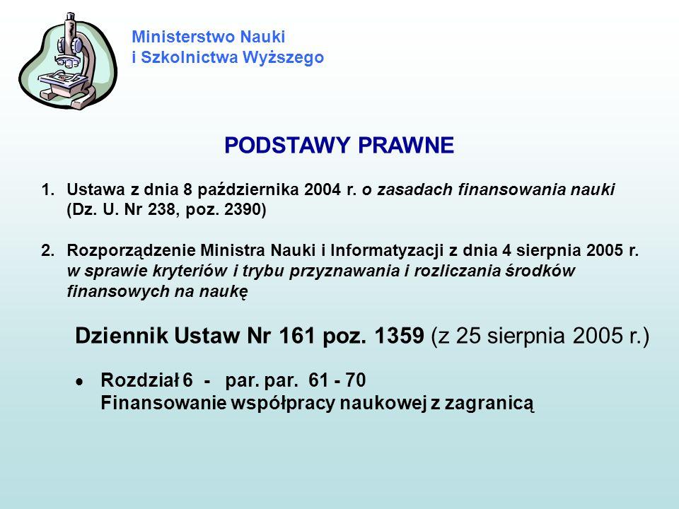 Dziennik Ustaw Nr 161 poz. 1359 (z 25 sierpnia 2005 r.)