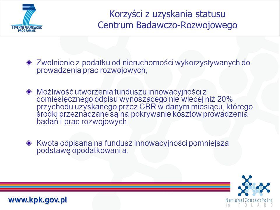 Korzyści z uzyskania statusu Centrum Badawczo-Rozwojowego