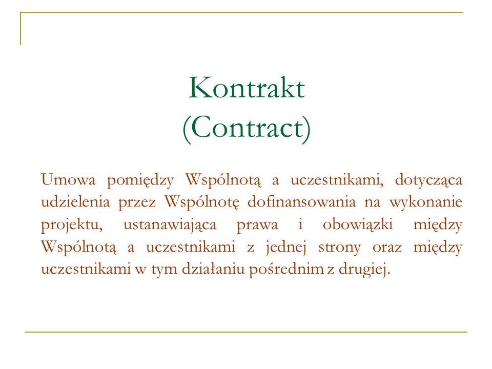 Kontrakt (Contract)