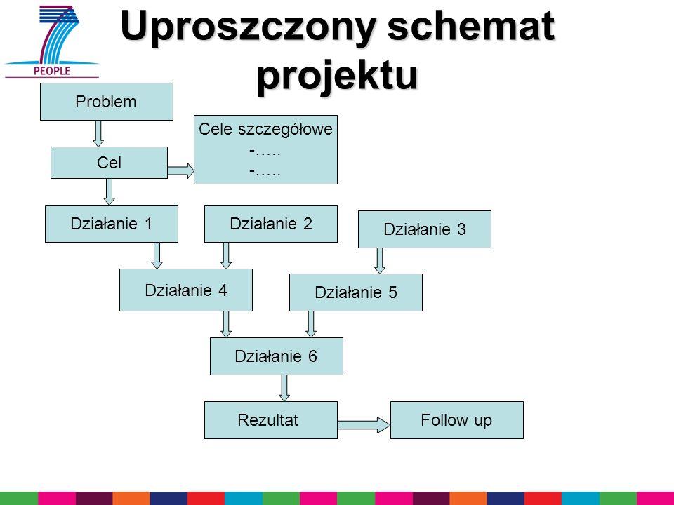 Uproszczony schemat projektu