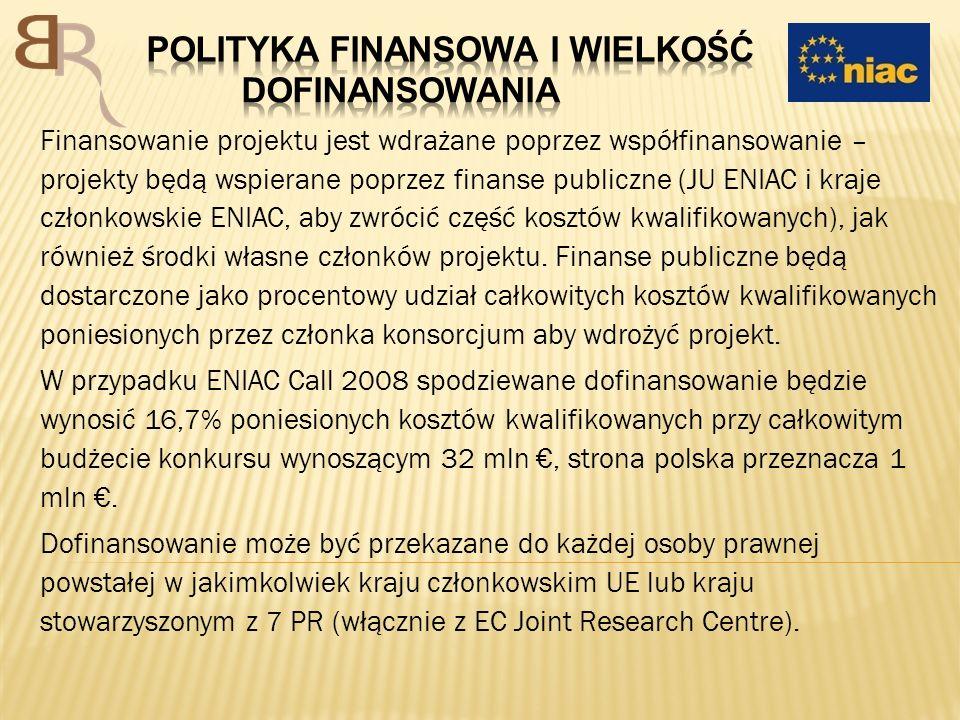 Polityka finansowa i wielkość dofinansowania