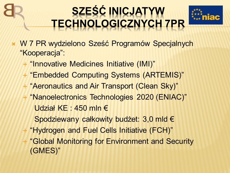 Sześć Inicjatyw technologicznych 7PR