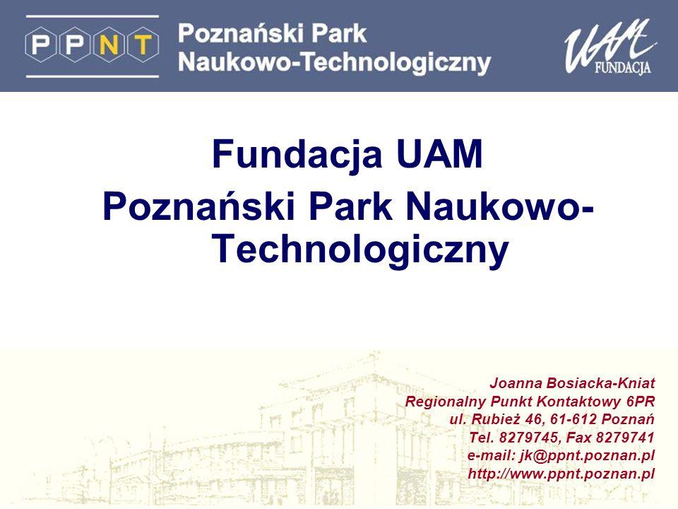 Poznański Park Naukowo- Technologiczny