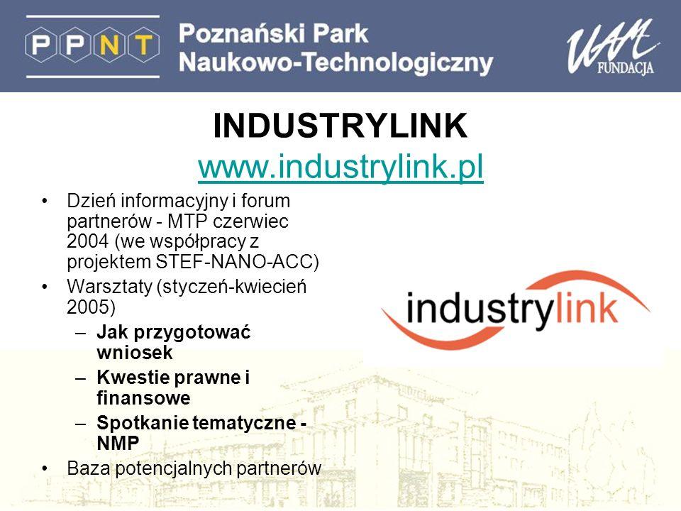 INDUSTRYLINK www.industrylink.pl