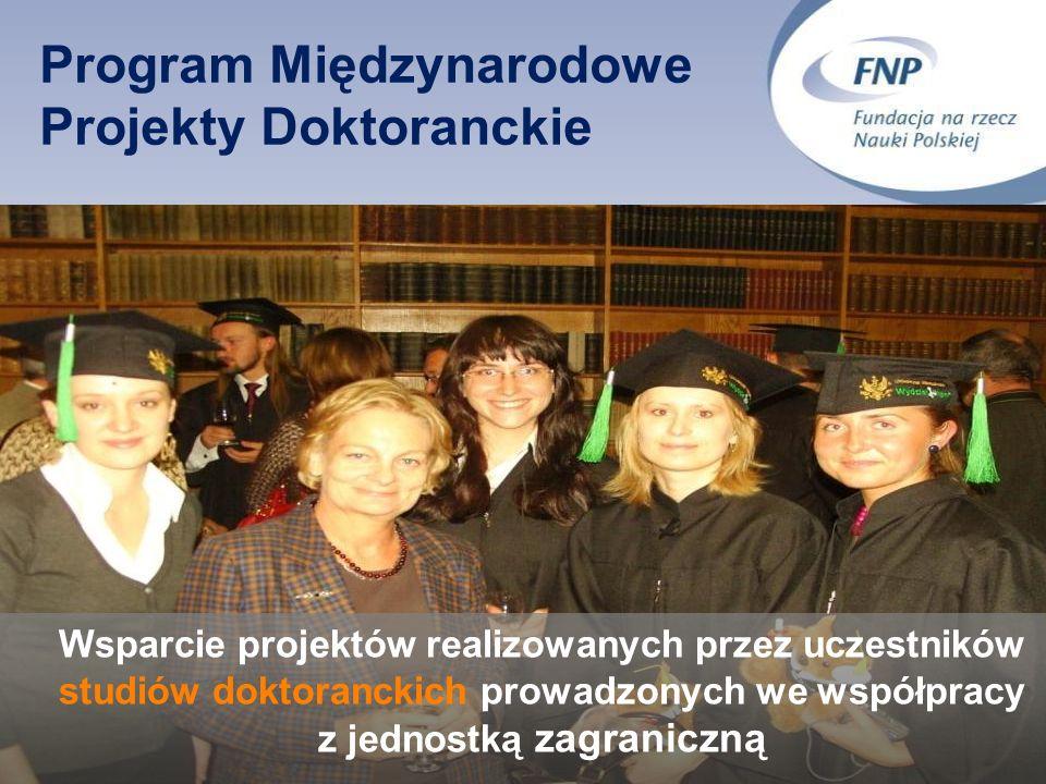 Program Międzynarodowe Projekty Doktoranckie