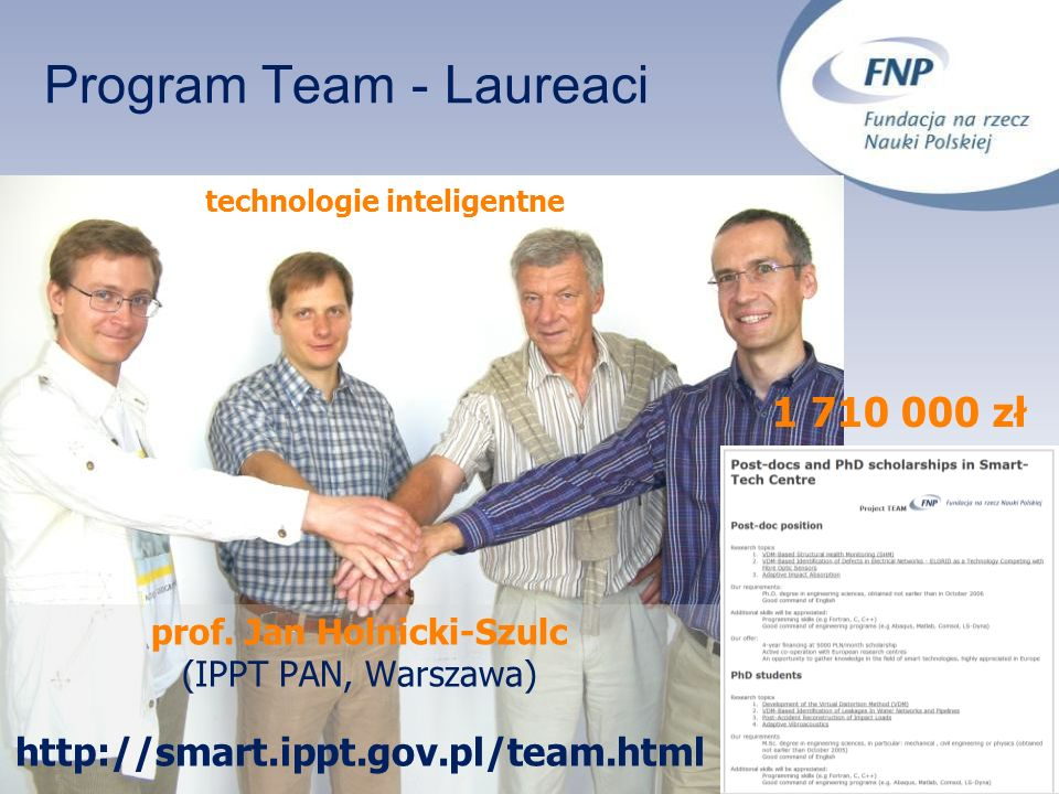 Program Team - Laureaci