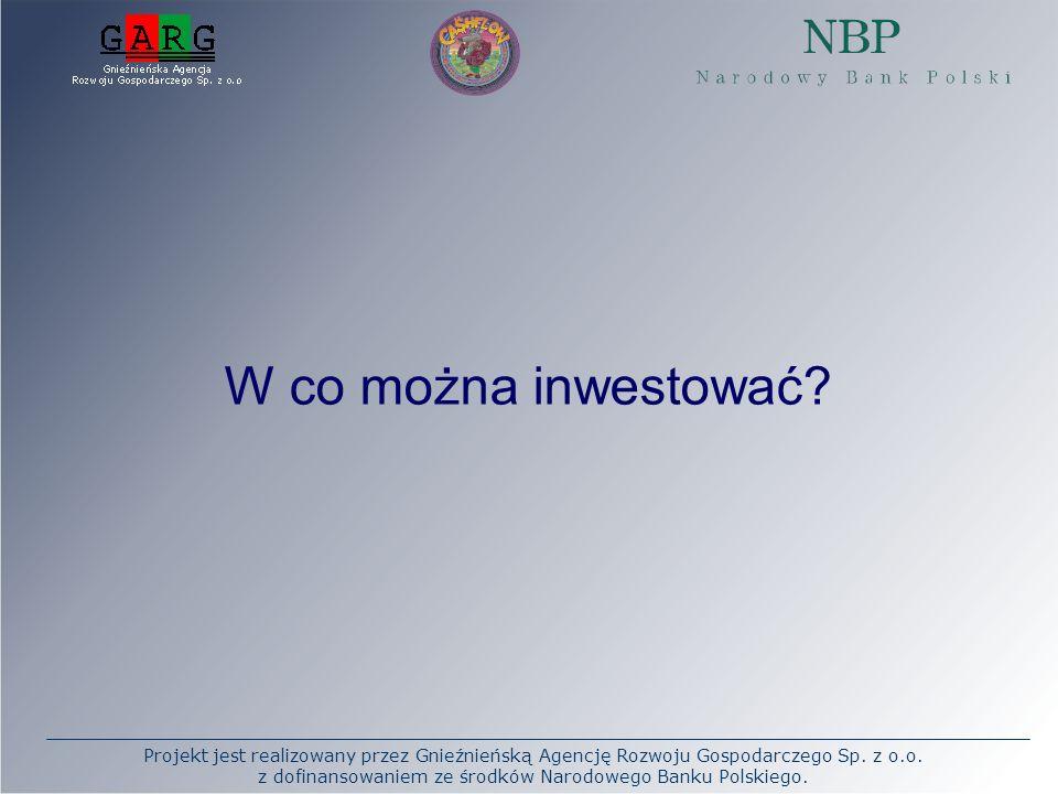 W co można inwestować