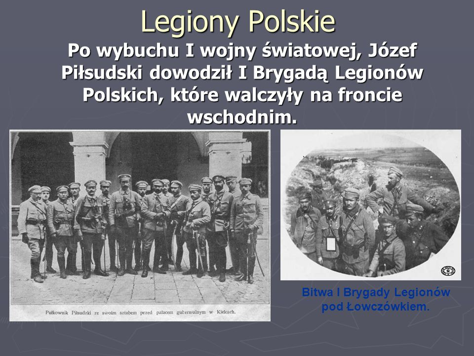 Bitwa I Brygady Legionów pod Łowczówkiem.