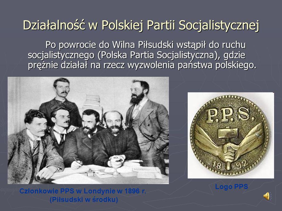 Działalność w Polskiej Partii Socjalistycznej
